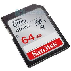 SanDisk SDXC Ultra 40 MB/s 64 GB
