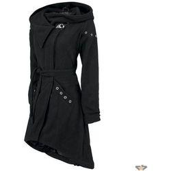kurtka kobiety (płaszczyk) damski POIZEN INDUSTRIES - Pleaser - Black