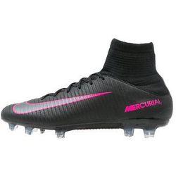 Nike Performance MERCURIAL VELOCE III DF FG Korki Lanki black/pink blast