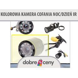 Kolorowa kamera cofania noc/dzień nowa IR