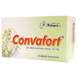 Convafort tabl.drażow. 0,0157 g 30 tabl.