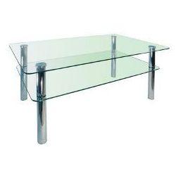 Szkłomal PROSTOKĄT MINI - Stolik szklany, 90x60 cm