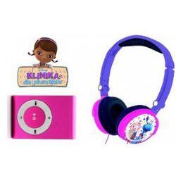 Słuchawki Klinika Dla Pluszaków + Odtwarzacz MP3