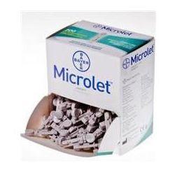 Lancet Microlet x 200 sztuk
