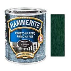 Farba Prosto Na Rdzę - Efekt Młotkowy Ciemnozielony 0,7L Hammerite