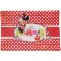 Podkładka na stół Disney Minnie 3D. Czerwony