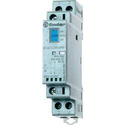 Stycznik modułowy 2 polowy Auto-On-Off+ LED, 2 NC 25A 12V AC/DC, 22.32.0.012.4440