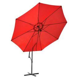 Malatec Parasol ogrodowy 3,5m 8-żebrowy - czerwony