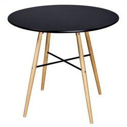 Czarny matowy, okrągły stolik Zapisz się do naszego Newslettera i odbierz voucher 20 PLN na zakupy w VidaXL!