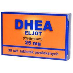 DHEA Eljot, 25 mg, tabletki powlekane, 30 szt