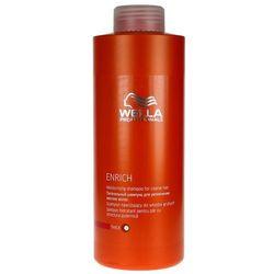 Wella Enrich Moisturising - szampon nawilżający do grubych włosów 1000ml