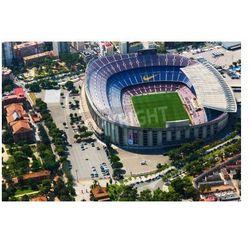 Fototapeta BARCELONA, Hiszpania - 01 sierpnia 2014: Widok z lotu ptaka na Camp Nou - Stadion FC Barcelona