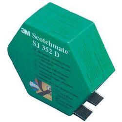 Taśma rzepowa Do przyklejenia element z pętelkami i haczykami (DxS) 5000 mm x 25.4 mm Czarny 3M 3M SJ 352D Scotchmate Spendebox 1 par(a)
