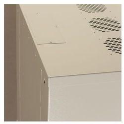 Netrack szafa wisz./stoj. 19'', 12U/450 mm - popiel, drzwi przeszklone