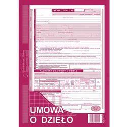 Umowa o dzieło Michalczyk&Prokop 510-1 - A4 (oryginał+kopia)