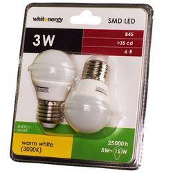 Żarówka LED E27 3W WhitEnergy