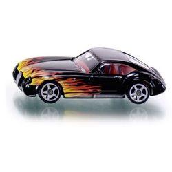Siku seria 13 samochód z płomieniami