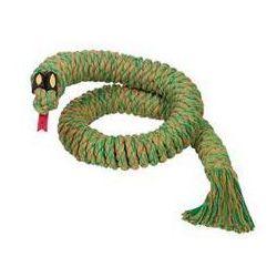 Zabawka dla zwierząt Nobby wąż 115cm Zielona