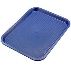 Taca z polipropylenu do serwowania, wym. 45x35cm, niebieska