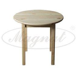 Stół okrągły drewniany nr3 s120