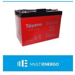 Akumulator Deep Cycle żel Toyama NPM120-12 12V 120Ah