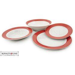 Porcelanowa zastawa stołowa - RL-DWS19 RED