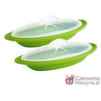 2 Naczynia żaroodporne Mastrad 360 ml, zielone