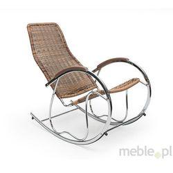 Fotel bujany BEN z rattanu