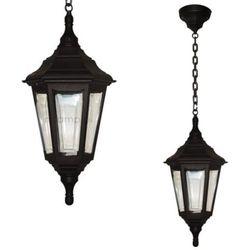 Zewnętrzna LAMPA wisząca KINSALE CHAIN Elstead klasyczna OPRAWA ogrodowy ZWIS IP44 outdoor latarnia czarny