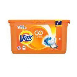 Kapsułki do prania do bieli i kolorów Vizir Go Pods Alpine Fresh 1058,4 g (42 sztuki)