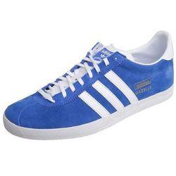 adidas Originals GAZELLE OG Tenisówki i Trampki air force blue/white/metallic gold
