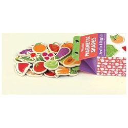 Drewniane magnesy 40 elementów - Owoce i warzywa OKAZJA