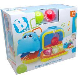 Zabawka B-KIDS Hipo pianinko z piłkami