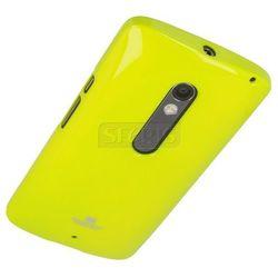 Etui Jelly Case do Lenovo Moto X Play JC-MXP Limonkowy - JC-MXP-L