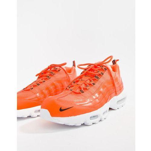 Nike Air Max 95 Premium Trainers In Orange 538416 801