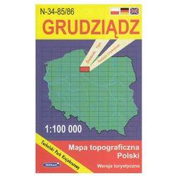 WZKart: GRUDZIĄDZ 1:100 000 mapa topograficzna Polski wydanie turystyczne (opr. miękka)