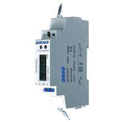 Orno Licznik zużycia energii elektrycznej 1F z portem RS-485 5(80)A OR-WE-504