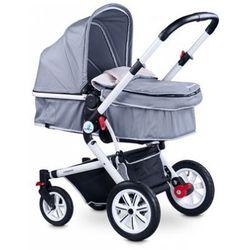 Caretero COMPASS wózek dziecięcy wielofunkcyjny 2 w 1 grey