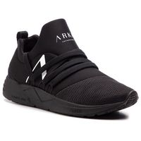 Sneakersy ARKK - Raven Mesh S-E15 IL1403-0099-W All Black/White