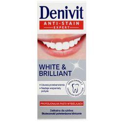 DENIVIT 50ml White & Brilliant Profesjonalna pasta wybielająca