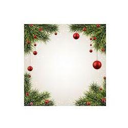 Foto naklejka samoprzylepna 100 x 100 cm - Christmas tła z gałęzi świerkowych.