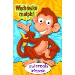 Wędrówka małpki Zwierzaki kłapaki (opr. kartonowa)
