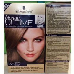 SCHWARZKOPF Blonde Ultime farba do wlosow 7-0 Ciemny Blond