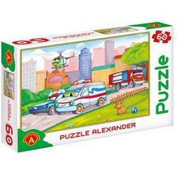 Puzzle 60 Samochody specjalne