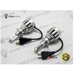 Światła mijania LED HeadLight H7 20W CREE 12-24V DC 2000lm 6500K - zestaw 2 sztuki