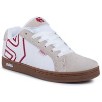Sneakersy ETNIES - Fader 4101000203 White/Tan