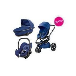 Wózek wielofunkcyjny 3w1 Moodd + Pebble GRATIS Quinny (Blue Base)