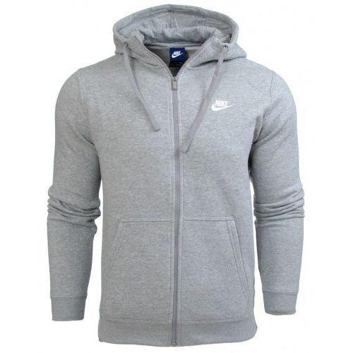 najnowsza zniżka szczegóły cienie Bluza Nike meska kaptur NSW Hoodie FZ FLC Club 804389 063 ...