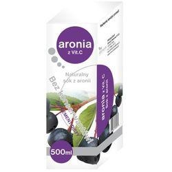 Aronia z witaminą C naturalny sok 500ml