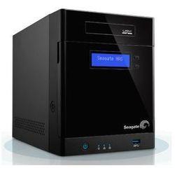 Seagate - Sieciowa pamięć masowa Business Storage 4-Bay NAS z obudową 4-kieszeniową o pojemności 4TB (4x1TB) / GbE LAN / USB 3.0